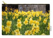 Daffodils And Bar Walls, York, Uk. Carry-all Pouch