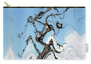 Dead Pine Tree Abstract Carry-all Pouch