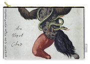 Demonology, 18th Century Carry-all Pouch