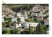 Dhermi Traditional Village View In Southern Albania Carry-all Pouch