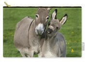 Donkey Mother And Young Carry-all Pouch