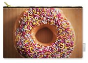 Donut And Sprinkles Carry-all Pouch