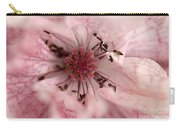 Double Dusty Rose Poppy From The Angel's Choir Mix Carry-all Pouch