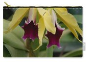 Double Orchid Carry-all Pouch