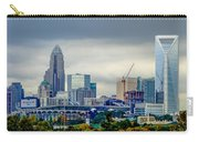 Dramatic Sky And Clouds Over Charlotte North Carolina Carry-all Pouch