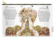 Elephants Ketubah- Reformed Humanistic Version Carry-all Pouch
