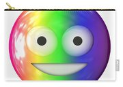 Emoticon Plastic Face Carry-all Pouch