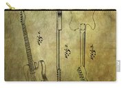 Fender Guitar Patent From 1951 Carry-all Pouch
