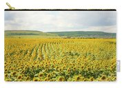 Field With Sunflowers Carry-all Pouch