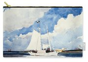 Fishing Schooner Carry-all Pouch
