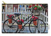Flower Bike Collection Carry-all Pouch