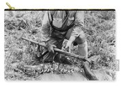 Frank Buck (1884-1950) Carry-all Pouch