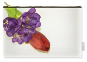 Freesia And Tulip Carry-all Pouch