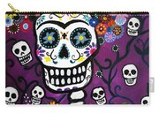 Frida Dia De Los Muertos Carry-all Pouch