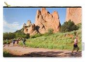 Garden Of The Gods Ten Mile Run In Colorado Springs Carry-all Pouch