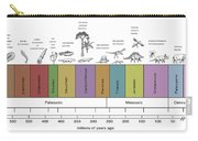 Geologic Time Line Carry-all Pouch