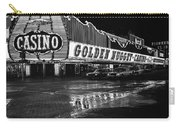 Golden Nugget Casino At Night In The Rain Las Vegas Nevada 1979 Carry-all Pouch