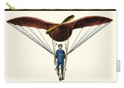 Goupils Flying Machine, 1883 Carry-all Pouch