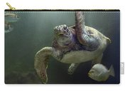 Green Sea Turtle Chelonia Mydas Carry-all Pouch