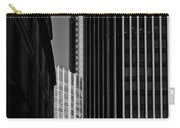 Heron Tower London Black And White Carry-all Pouch
