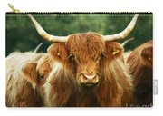 Highland Cattle Carry-all Pouch