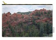 Hiking The Mesa Trail In Red Rocks Canyon Colorado Carry-all Pouch