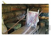 Historic Log Trappers Cabin Carry-all Pouch