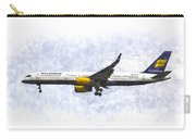 Icelandair Boeing 757 Art Carry-all Pouch