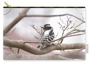Img_0001 - Downy Woodpecker Carry-all Pouch