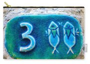 Jaffa, Pisces Zodiac Street Sign  Carry-all Pouch