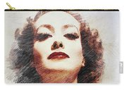 Joan Crawford, Vintage Actress Carry-all Pouch