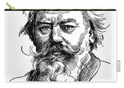 Johannes Brahms 1833-1897 Carry-all Pouch