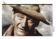 John Wayne Hollywood Actor Carry-all Pouch