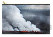 Lava And Plumes From The Holuhraun Carry-all Pouch
