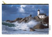 Lighthouse On The Coast, Pontusval Carry-all Pouch