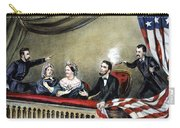 Lincoln Assassination Carry-all Pouch