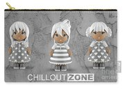 3 Little 3d Girls In Chilloutzone Carry-all Pouch