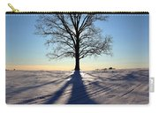 Lone Tree In Snow Carry-all Pouch