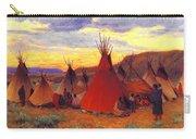 lrs Sharp Joseph Henry Evening Crow Reservation Joseph Henry Sharp Carry-all Pouch