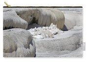 Mammoth Hot Springs Upper Terraces In Yellowstone National Park Carry-all Pouch