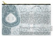 Mandala Ketubah- Ready To Fill Carry-all Pouch