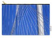 Margaret Hunt Hill Bridge In Dallas - Texas Carry-all Pouch
