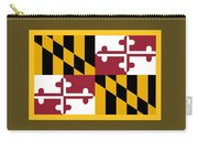 Maryland Flag Carry-all Pouch