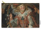 Merrymakers At Shrovetide Carry-all Pouch