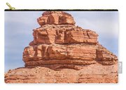 Mexican Hat Rock Monument Landscape On Sunny Day Carry-all Pouch