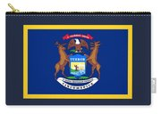Michigan Flag Carry-all Pouch