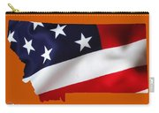 Montana State Map Collection Carry-all Pouch