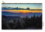 Mount Mimtchell Sunset Landscape In Summer Carry-all Pouch