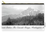 Mt. Baker, Cascade Range, Late Afternoon Carry-all Pouch