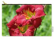 Red Lily Pair Carry-all Pouch
